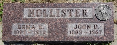 HOLLISTER, ERMA - Jones County, South Dakota | ERMA HOLLISTER - South Dakota Gravestone Photos