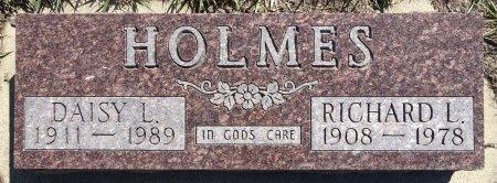 HOLMES, RICHARD L. - Jones County, South Dakota | RICHARD L. HOLMES - South Dakota Gravestone Photos