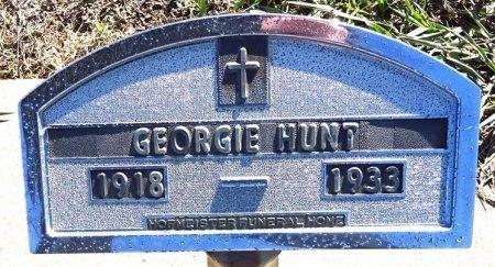 HUNT, GEORGIE - Jones County, South Dakota   GEORGIE HUNT - South Dakota Gravestone Photos