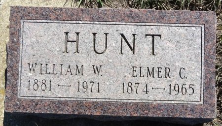 HUNT, WILLIAM W. - Jones County, South Dakota | WILLIAM W. HUNT - South Dakota Gravestone Photos
