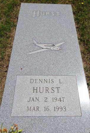 HURST, DENNIS - Jones County, South Dakota | DENNIS HURST - South Dakota Gravestone Photos