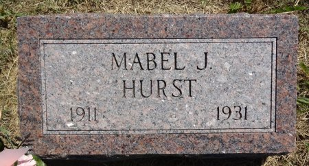 HURST, MABEL - Jones County, South Dakota | MABEL HURST - South Dakota Gravestone Photos