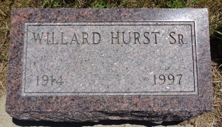 HURST, SR., WILLARD - Jones County, South Dakota | WILLARD HURST, SR. - South Dakota Gravestone Photos