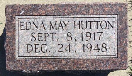 HUTTON, EDNA MAY - Jones County, South Dakota   EDNA MAY HUTTON - South Dakota Gravestone Photos
