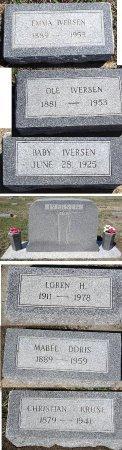IVERSEN, CHRISTIAN - Jones County, South Dakota | CHRISTIAN IVERSEN - South Dakota Gravestone Photos