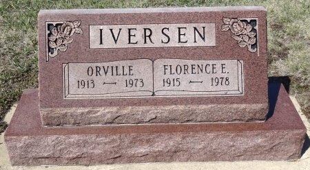 IVERSEN, FLORENCE - Jones County, South Dakota | FLORENCE IVERSEN - South Dakota Gravestone Photos