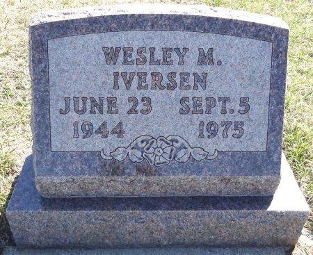 IVERSEN, WESLEY - Jones County, South Dakota | WESLEY IVERSEN - South Dakota Gravestone Photos
