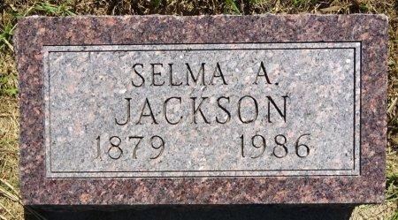 JACKSON, SELMA - Jones County, South Dakota | SELMA JACKSON - South Dakota Gravestone Photos