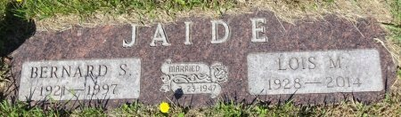 JAIDE, BERNARD - Jones County, South Dakota | BERNARD JAIDE - South Dakota Gravestone Photos