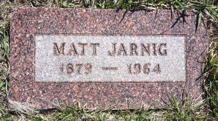 JARNIG, MATT - Jones County, South Dakota | MATT JARNIG - South Dakota Gravestone Photos