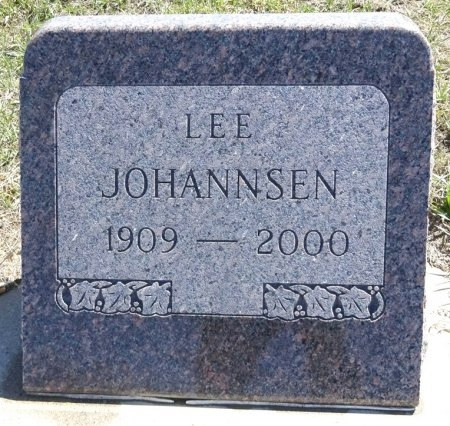 JOHANNSEN, LEE - Jones County, South Dakota | LEE JOHANNSEN - South Dakota Gravestone Photos