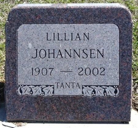 JOHANNSEN, LILLIAN - Jones County, South Dakota | LILLIAN JOHANNSEN - South Dakota Gravestone Photos