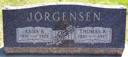 JORGENSEN, THOMAS - Jones County, South Dakota | THOMAS JORGENSEN - South Dakota Gravestone Photos