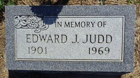 JUDD, EDWARD - Jones County, South Dakota   EDWARD JUDD - South Dakota Gravestone Photos