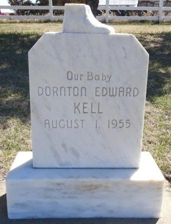KELL, DORNTON EDWARD - Jones County, South Dakota | DORNTON EDWARD KELL - South Dakota Gravestone Photos