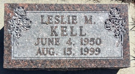 KELL, LESLIE M. - Jones County, South Dakota | LESLIE M. KELL - South Dakota Gravestone Photos