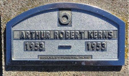 KERNS, ARTHUR - Jones County, South Dakota | ARTHUR KERNS - South Dakota Gravestone Photos