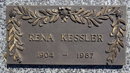 KESSLER, RENA - Jones County, South Dakota | RENA KESSLER - South Dakota Gravestone Photos