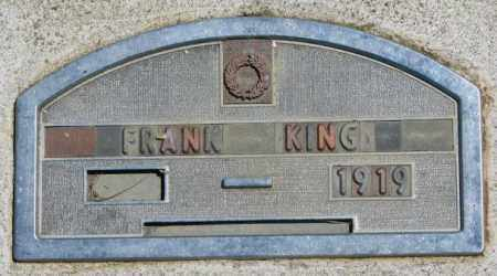 KING, FRANK - Jones County, South Dakota | FRANK KING - South Dakota Gravestone Photos