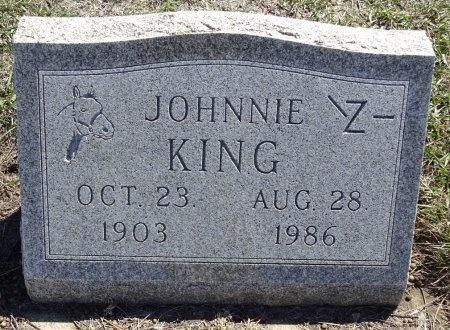 KING, JOHNNIE - Jones County, South Dakota   JOHNNIE KING - South Dakota Gravestone Photos
