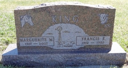 MCIVER KING, MARGUERITE - Jones County, South Dakota | MARGUERITE MCIVER KING - South Dakota Gravestone Photos