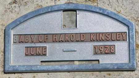 KINSLEY, BABY - Jones County, South Dakota   BABY KINSLEY - South Dakota Gravestone Photos