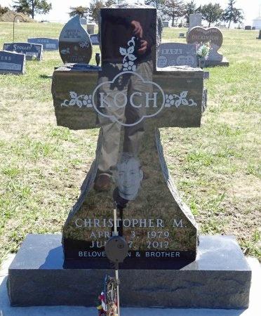 KOCH, CHRISTOPHER - Jones County, South Dakota | CHRISTOPHER KOCH - South Dakota Gravestone Photos