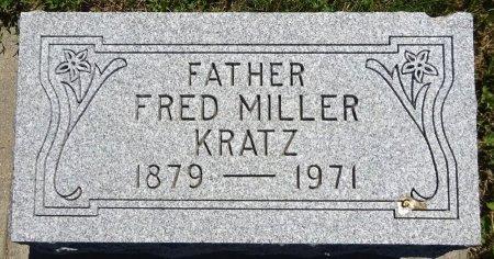 KRATZ, FRED - Jones County, South Dakota   FRED KRATZ - South Dakota Gravestone Photos