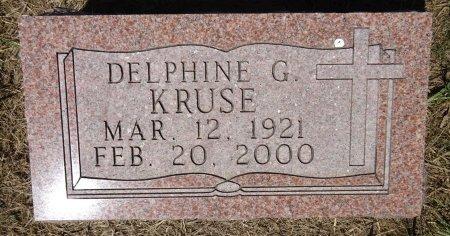KRUSE, DELPHINE - Jones County, South Dakota | DELPHINE KRUSE - South Dakota Gravestone Photos