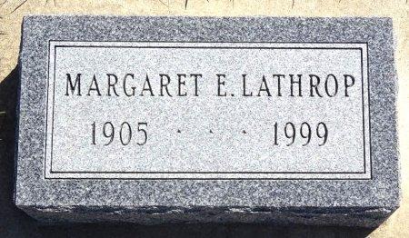 LATHROP, MARGARET - Jones County, South Dakota | MARGARET LATHROP - South Dakota Gravestone Photos