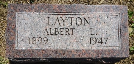 LAYTON, ALBERT - Jones County, South Dakota | ALBERT LAYTON - South Dakota Gravestone Photos