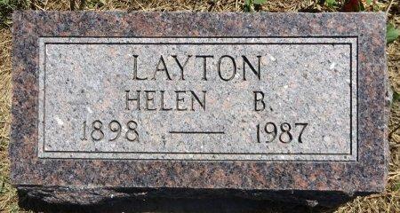 LAYTON, HELEN B. - Jones County, South Dakota | HELEN B. LAYTON - South Dakota Gravestone Photos