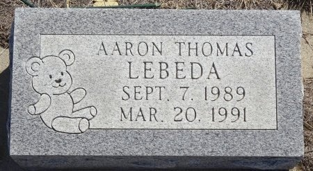 LEBEDA, AARON - Jones County, South Dakota | AARON LEBEDA - South Dakota Gravestone Photos