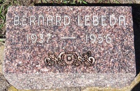 LEBEDA, BERNARD - Jones County, South Dakota | BERNARD LEBEDA - South Dakota Gravestone Photos