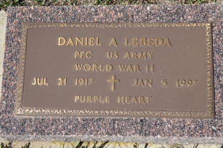 LEBEDA, DANIEL - Jones County, South Dakota   DANIEL LEBEDA - South Dakota Gravestone Photos