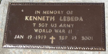 LEBEDA, KENNETH - Jones County, South Dakota | KENNETH LEBEDA - South Dakota Gravestone Photos