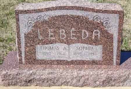 LEBEDA, SOPHIA - Jones County, South Dakota | SOPHIA LEBEDA - South Dakota Gravestone Photos