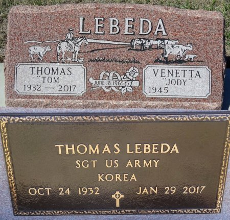 "LEBEDA, VENETTA ""JODY"" - Jones County, South Dakota | VENETTA ""JODY"" LEBEDA - South Dakota Gravestone Photos"