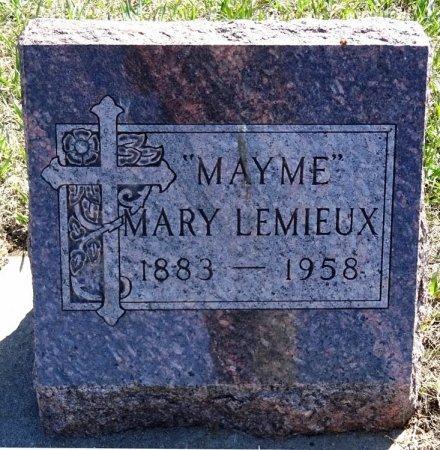 "LEMIEUX, MARY ""MAYME"" - Jones County, South Dakota | MARY ""MAYME"" LEMIEUX - South Dakota Gravestone Photos"