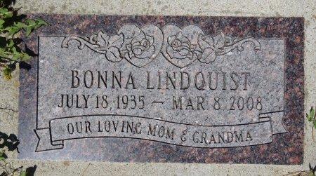 LINDQUIST, BONNA - Jones County, South Dakota | BONNA LINDQUIST - South Dakota Gravestone Photos
