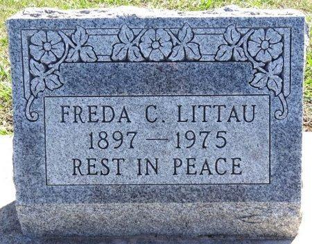 LITTAU, FREDA C. - Jones County, South Dakota | FREDA C. LITTAU - South Dakota Gravestone Photos