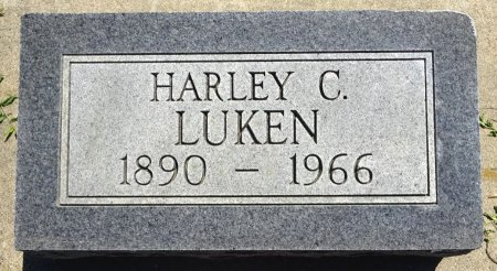 LUKEN, HARLEY - Jones County, South Dakota   HARLEY LUKEN - South Dakota Gravestone Photos