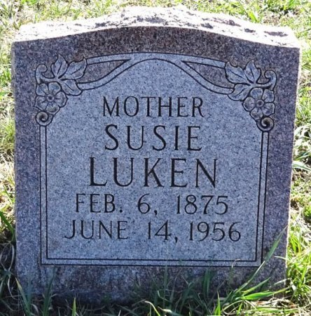 LUKEN, SUSIE - Jones County, South Dakota | SUSIE LUKEN - South Dakota Gravestone Photos