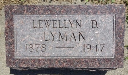 LYMAN, LEWELLYN - Jones County, South Dakota   LEWELLYN LYMAN - South Dakota Gravestone Photos