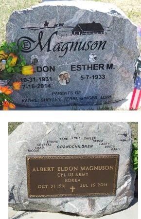 MAGNUSON, ESTHER - Jones County, South Dakota | ESTHER MAGNUSON - South Dakota Gravestone Photos