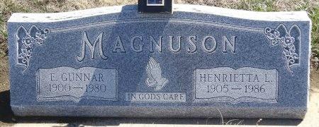 MAGNUSON, E. GUNNAR - Jones County, South Dakota | E. GUNNAR MAGNUSON - South Dakota Gravestone Photos