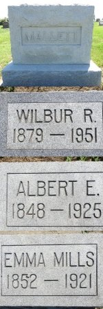 MALLETT, WILBUR - Jones County, South Dakota | WILBUR MALLETT - South Dakota Gravestone Photos