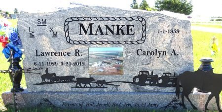 MANKE, CAROLYN - Jones County, South Dakota | CAROLYN MANKE - South Dakota Gravestone Photos