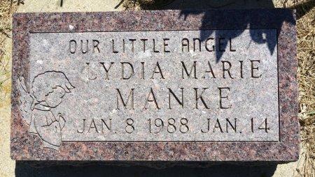 MANKE, LYDIA MARIE - Jones County, South Dakota | LYDIA MARIE MANKE - South Dakota Gravestone Photos