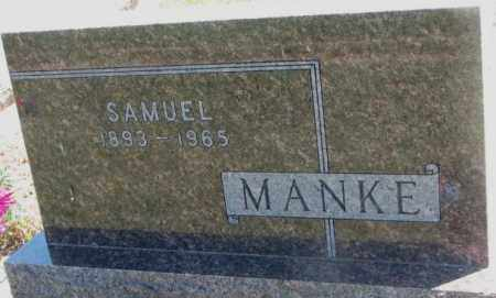 MANKE, SAMUEL - Jones County, South Dakota   SAMUEL MANKE - South Dakota Gravestone Photos
